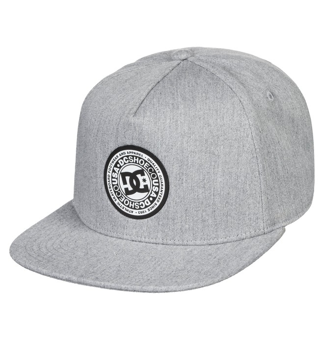 0 Reynotts Snapback Hat Black ADYHA03733 DC Shoes