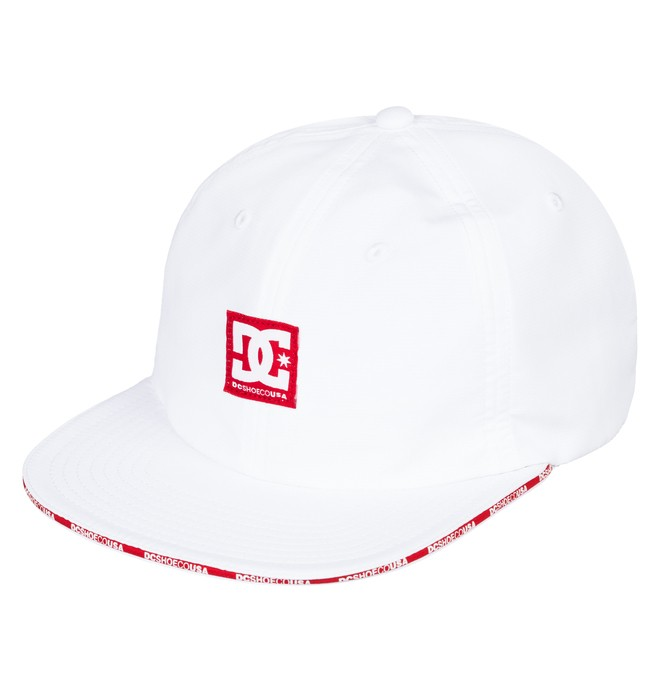 0 Sandwich Baseball Hat White ADYHA03743 DC Shoes