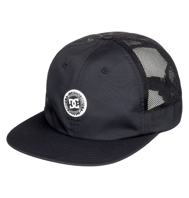 0 Harsh Baseball Hat Black ADYHA03745 DC Shoes