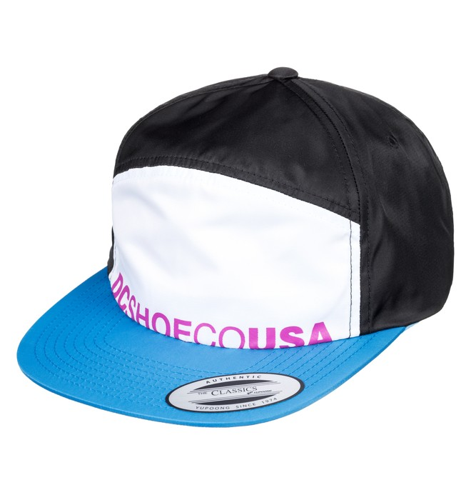 0 Crockeye Arch Shape Hat Blue ADYHA03747 DC Shoes