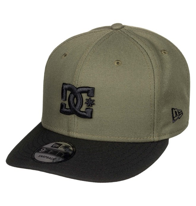 0 Empire Fielder Snapback Hat Brown ADYHA03749 DC Shoes