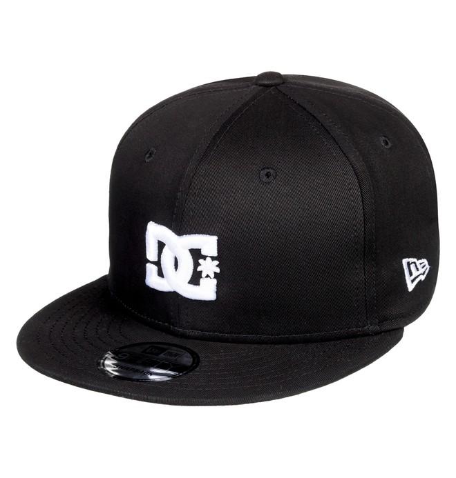 0 Empire Fielder Snapback Hat Black ADYHA03749 DC Shoes