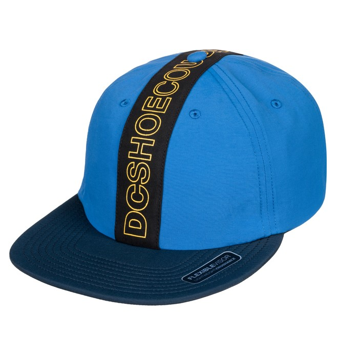 0 Baffles Toggle Closure Hat Blue ADYHA03752 DC Shoes