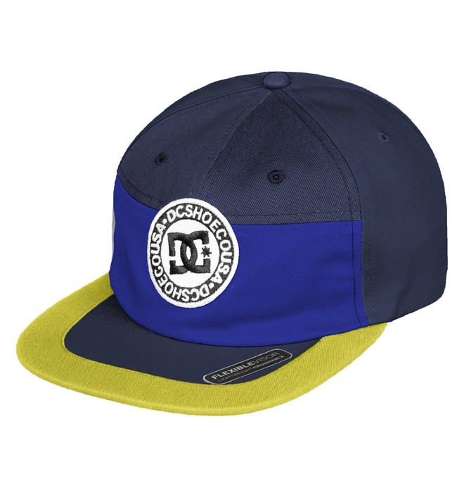 0 The Vial Camper Hat Blue ADYHA03753 DC Shoes