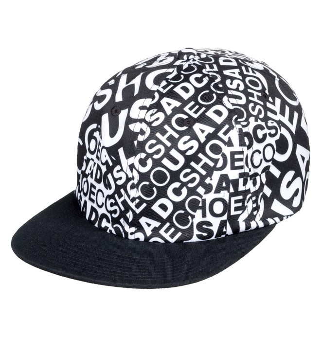 0 Vertigo Snapback Hat Black ADYHA03754 DC Shoes