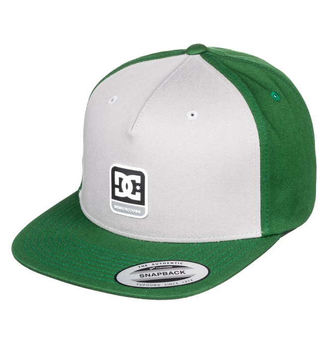 0 Snapdragger Snapback Hat Green ADYHA03759 DC Shoes