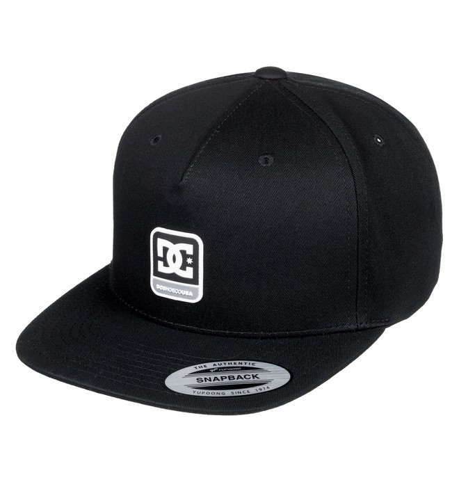 0 Snapdragger Snapback Hat Black ADYHA03759 DC Shoes