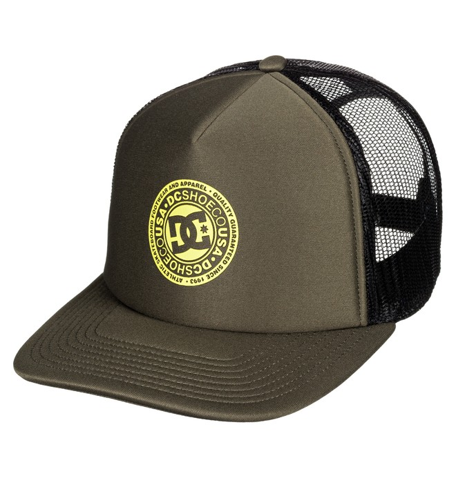 0 Vested Up Trucker Hat Brown ADYHA03763 DC Shoes