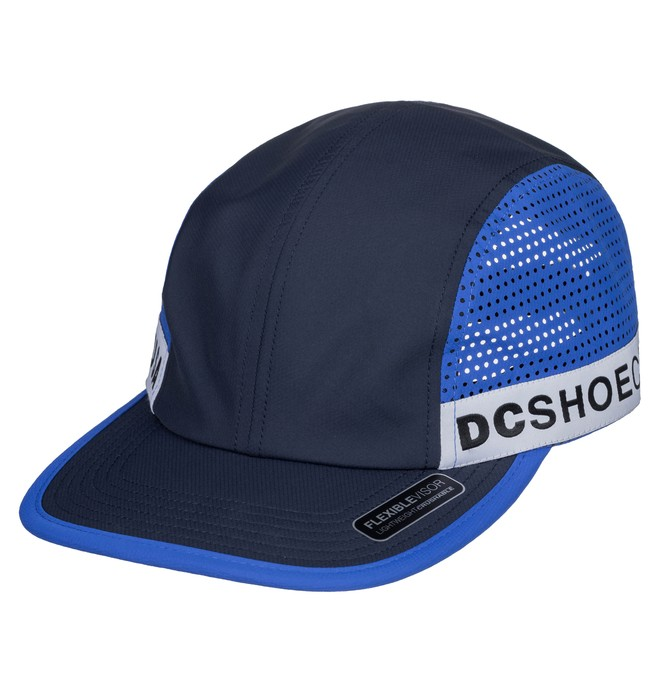 0 Taperson Strapback Athletic Hat Blue ADYHA03807 DC Shoes