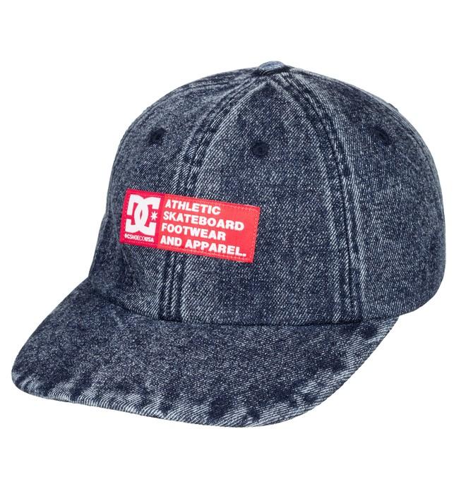 0 Bloken Snapback Hat Blue ADYHA03809 DC Shoes