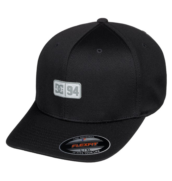 0 Sweepster Flexfit® Hat Black ADYHA03810 DC Shoes