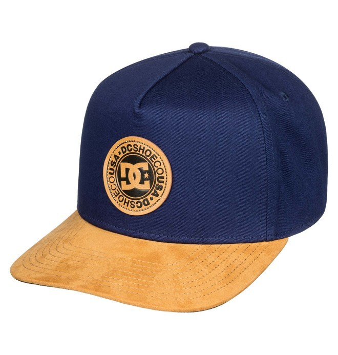 0 Racks Snapback Hat Blue ADYHA03827 DC Shoes
