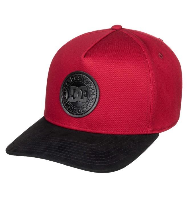 0 Racks Snapback Hat Red ADYHA03827 DC Shoes