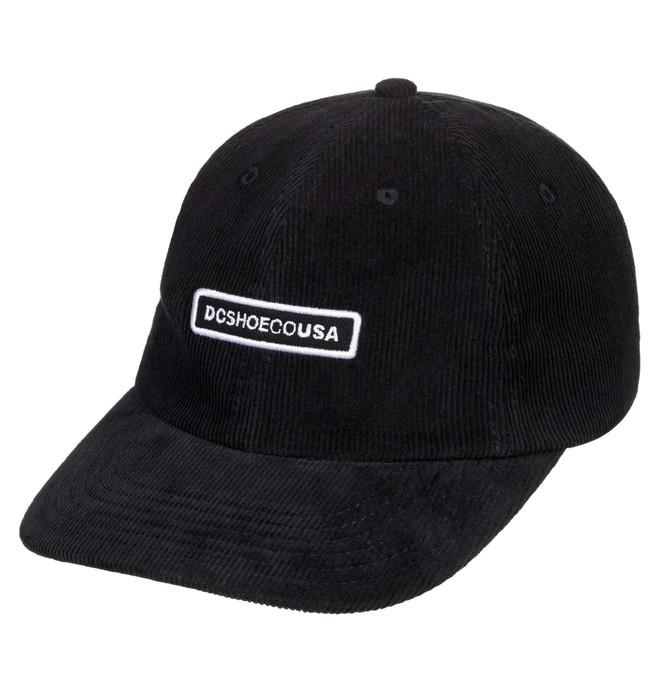 0 Cringer Snapback Hat Black ADYHA03836 DC Shoes