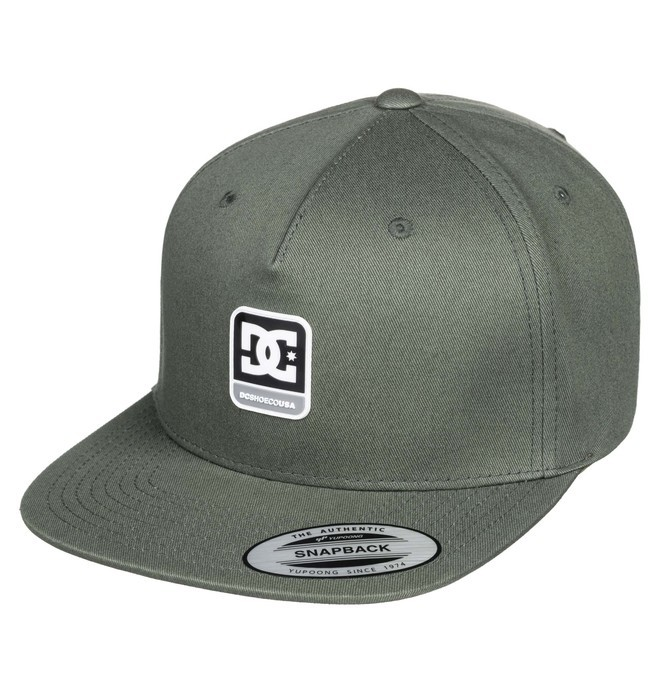 0 Snapdragger Snapback Hat Brown ADYHA03853 DC Shoes