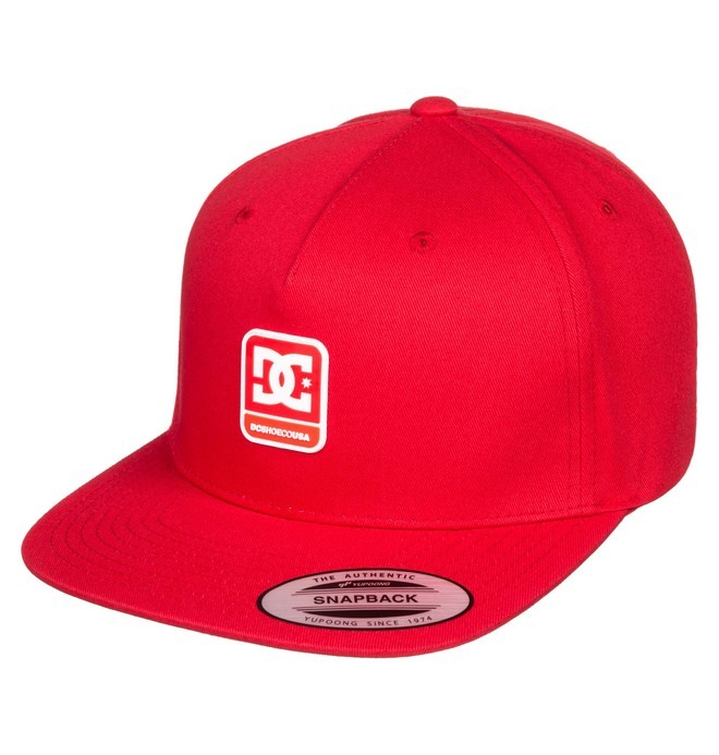 0 Snapdragger Snapback Hat Red ADYHA03853 DC Shoes
