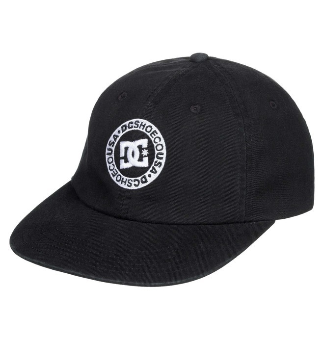 0 Sketchy Lane Strapback Cap Black ADYHA03880 DC Shoes
