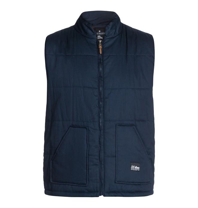 0 Men's Wes Puffs Vest  ADYJK03004 DC Shoes