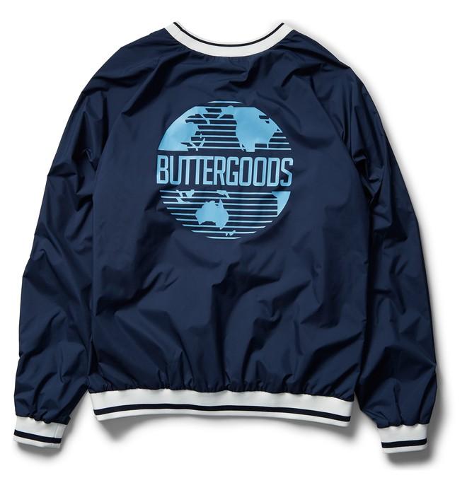 DC X Butter Goods Knick - Windbreaker Sweatshirt for Men ADYJK03067