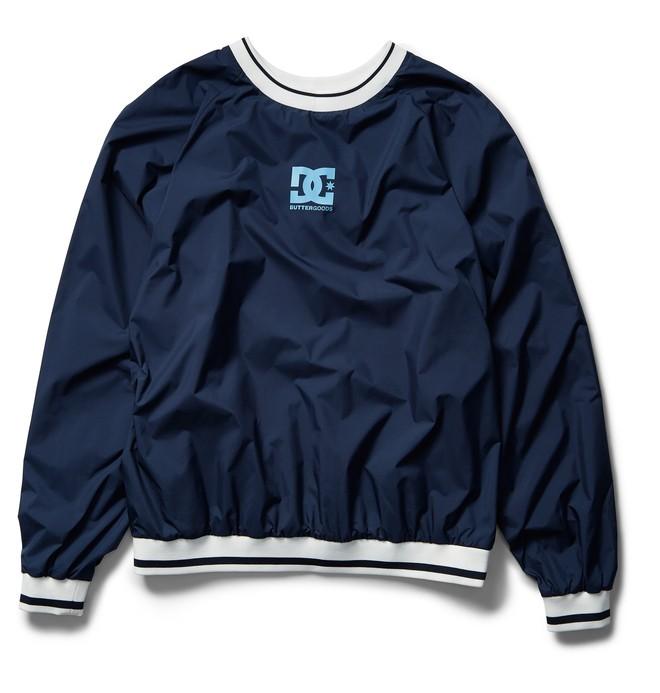 0 DC X BG Knick Nylon Pullover Blue ADYJK03067 DC Shoes