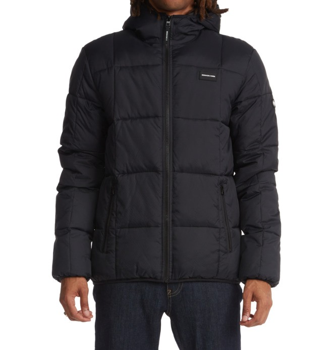 Square Up - Insulated Hooded Jacket for Men  ADYJK03126