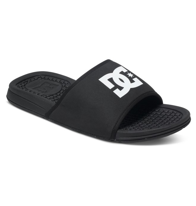 0 Bolsa Slider Sandals Black ADYL100026 DC Shoes