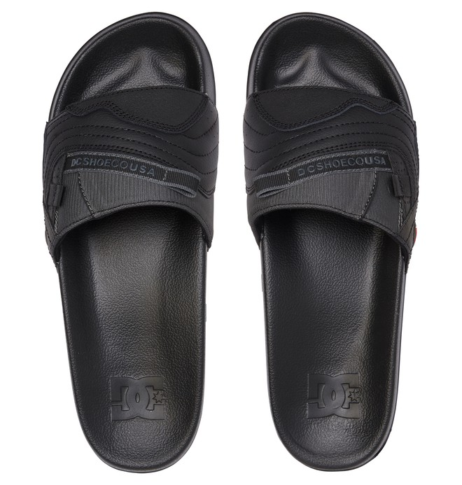 Williams Slide - Leather Sliders for Men  ADYL100045