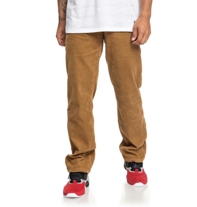 0 Cord Corduroy Pants Orange ADYNP03043 DC Shoes