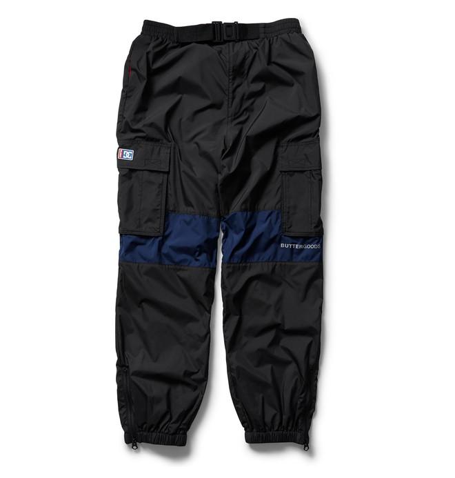 DC X Butter Goods Weber - Windbreaker Cargo Trousers for Men ADYNP03051