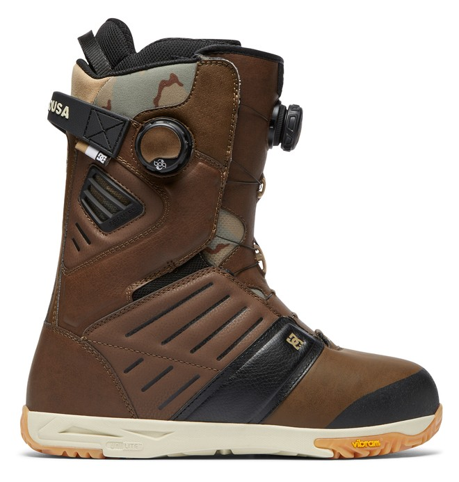 0 Judge BOA Snowboard Boots Brown ADYO100031 DC Shoes