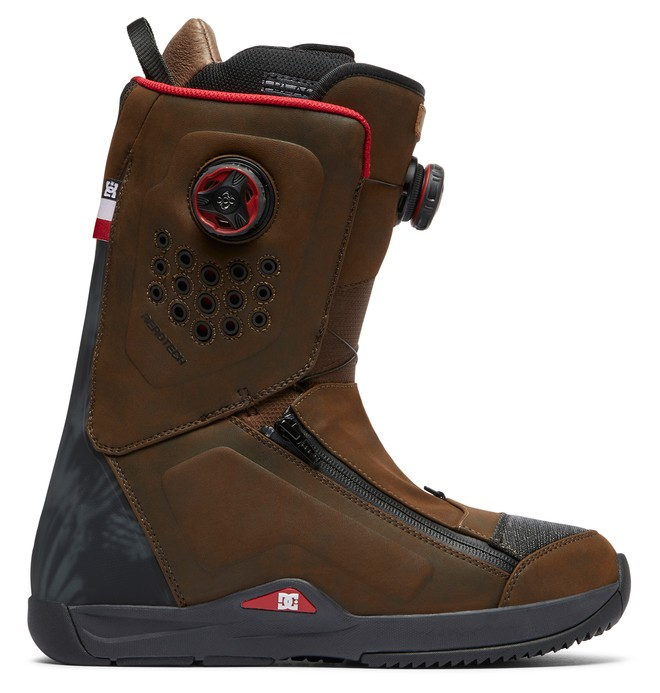 0 Travis Rice BOA Snowboard Boots Brown ADYO100034 DC Shoes