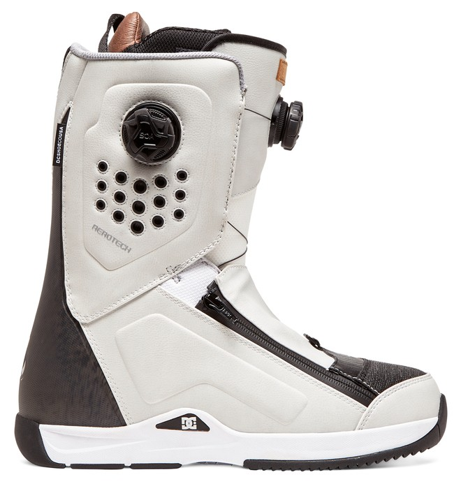 0 Travis Rice - BOA® Snowboard Boots White ADYO100039 DC Shoes