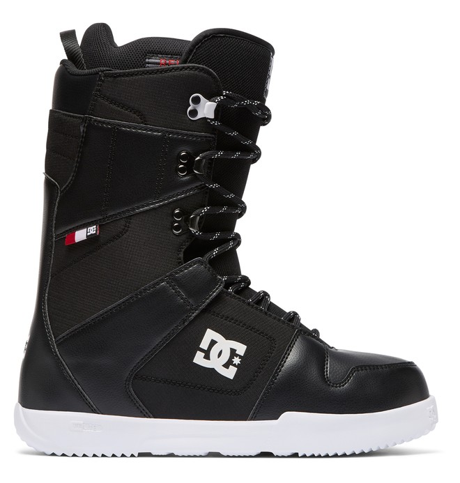 0 Phase Lace-Up Snowboard Boots Black ADYO200038 DC Shoes