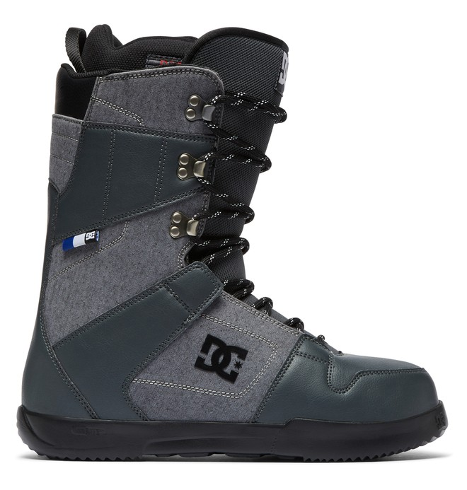 0 Phase Lace-Up Snowboard Boots Grey ADYO200038 DC Shoes