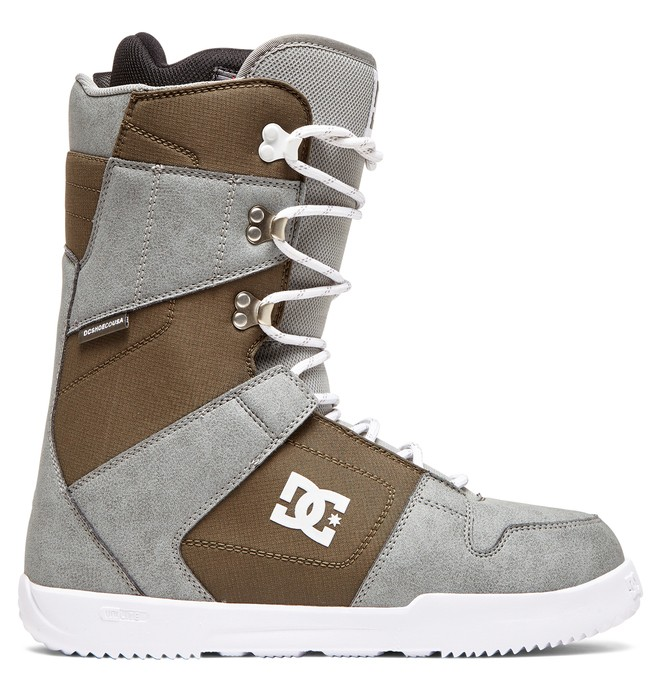 0 Phase Lace-Up Snowboard Boots Grey ADYO200041 DC Shoes