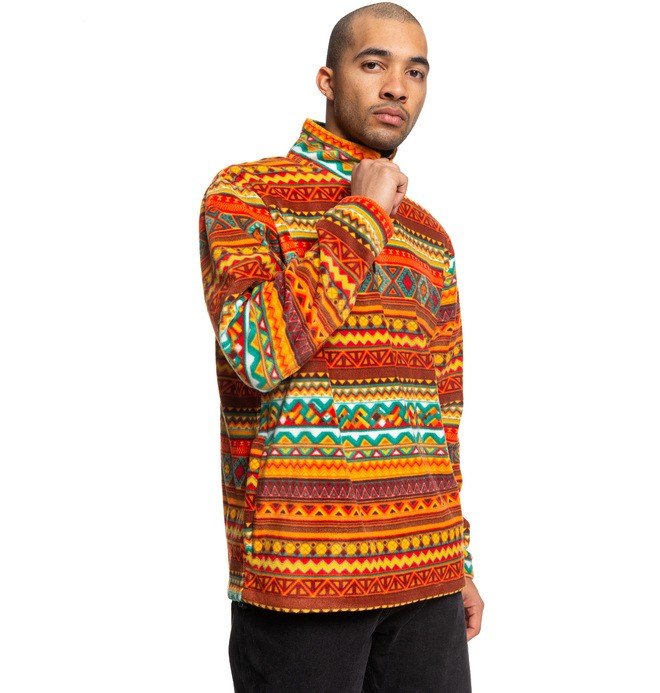 Tfunk - Half-Zip Mock Neck Fleece  ADYPF03005