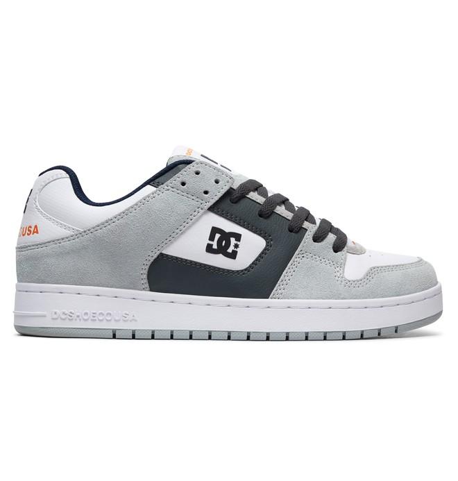 0 Manteca Shoes Grey ADYS100177 DC Shoes