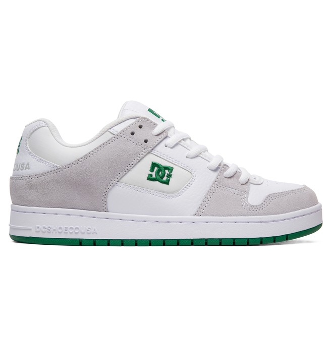 0 Manteca Shoes White ADYS100177 DC Shoes