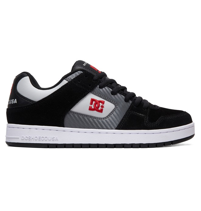 0 Manteca Shoes Black ADYS100177 DC Shoes