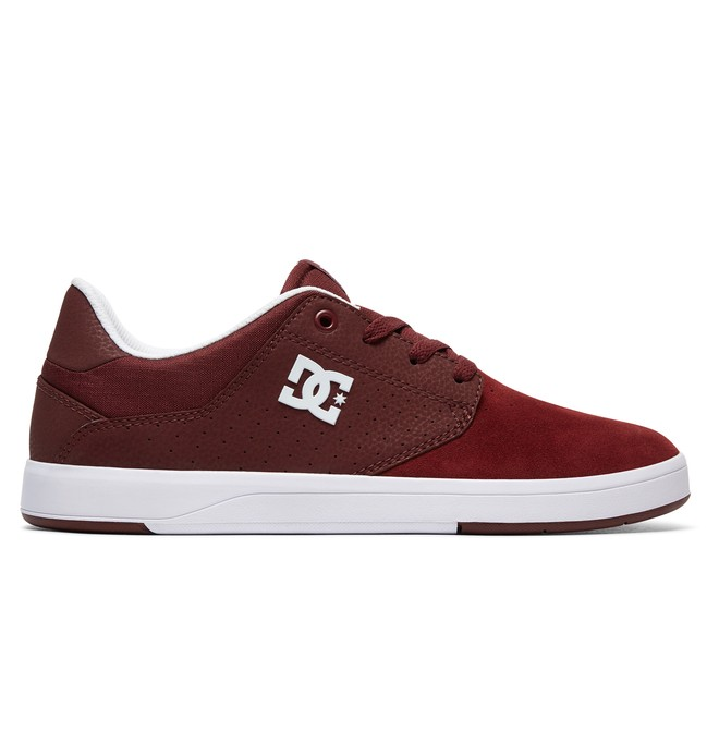 0 Plaza S - Skate Shoes Red ADYS100319 DC Shoes