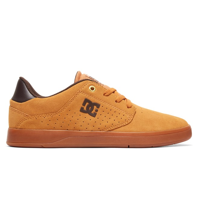 0 Plaza S Skate Shoes Beige ADYS100319 DC Shoes