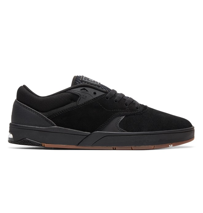 0 Tiago S - Skate Shoes for Men Black ADYS100386 DC Shoes