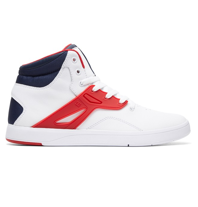 0 Frequency - High-Top Shoes White ADYS100410 DC Shoes