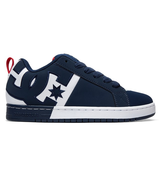 0 Court Graffik Shoes Blue ADYS100442 DC Shoes