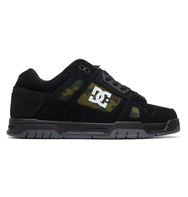 0 Stag Shoes Black ADYS100443 DC Shoes
