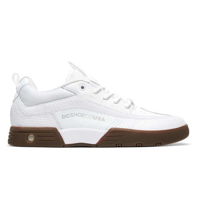 0 Zapatos delgados Legacy 98 Blanco ADYS100445 DC Shoes