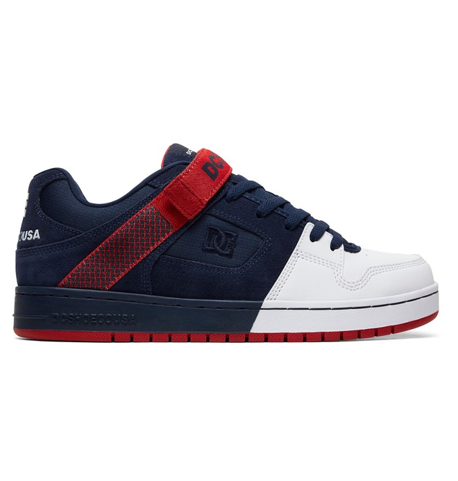 0 Manteca V - Shoes for Men Blue ADYS100457 DC Shoes