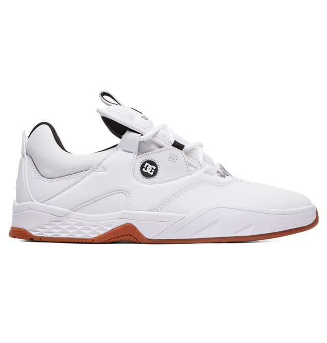 0 Kalis S Skate Shoes White ADYS100470 DC Shoes