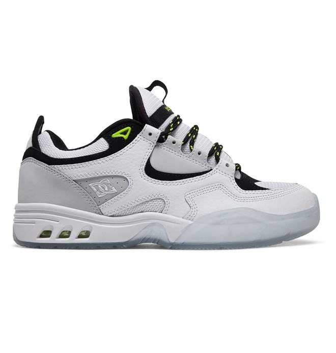 0 Kalis OG x Monkey Time Leather Shoes White ADYS100530 DC Shoes