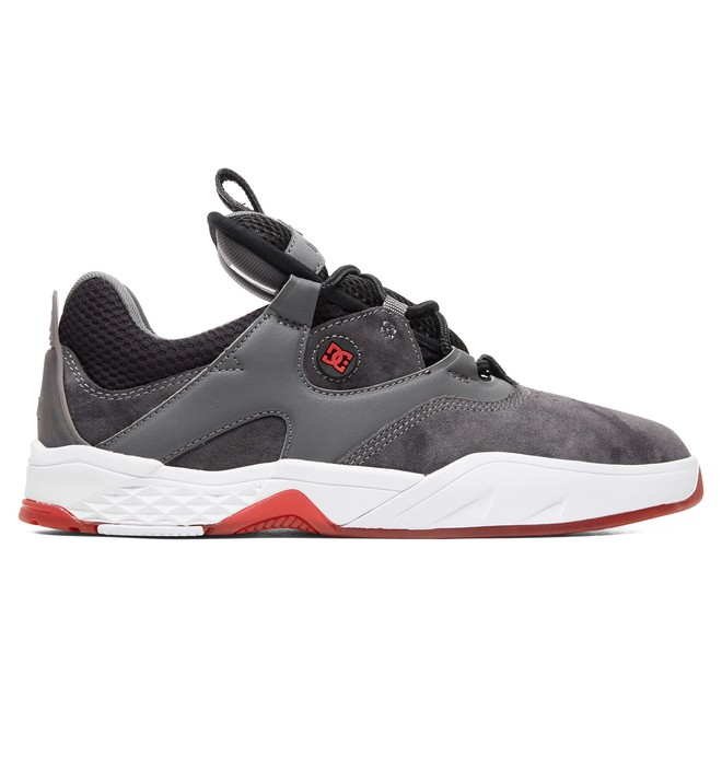 0 Kalis LE - Leather Shoes Grey ADYS100569 DC Shoes